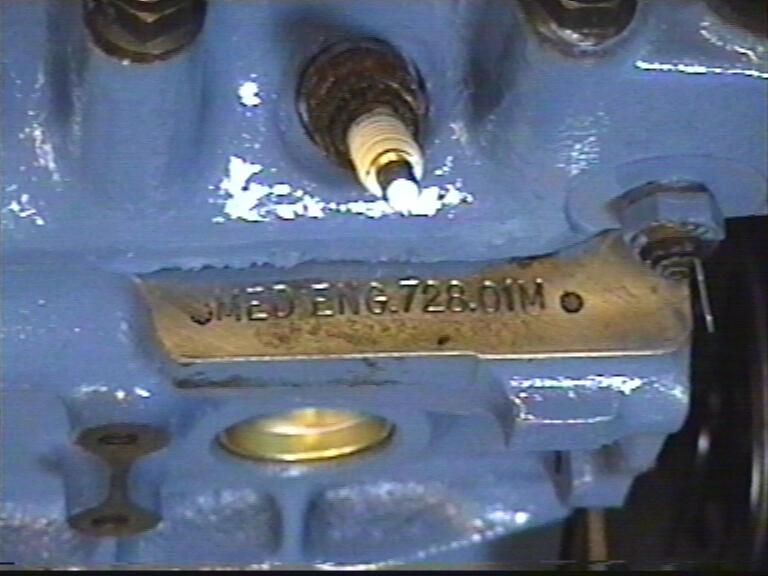 engine number: